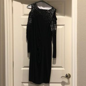 Cache size 12 evening dress.